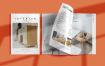 室内装饰杂志画册样机模板展示Interior Magazine