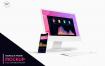 苹果电脑创意模板素材展示样机iMac and iPhone Mockups