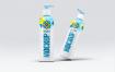 化妆品瓶分配器展示样机模型智能贴图 1supplement jar box mock up 2 HHVX6C