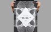 科技感海报传单模板 传单/海报模板Prophecy Flyer / Poster Template