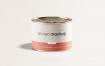 精致中型锡罐样机  模板密封罐包装Medium Tin Can Mockup