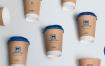 热饮杯场景样机咖啡杯子包装素材模型样机147 coffee cup mockup