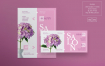 时尚传单海报模板展示Beauty Salon Flyer and Poster Template 4uwse9