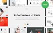 欧美风家居电商购物UI网页UI素材Avis – E-Commerce UI Pack