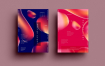 水滴色彩纹理传单/海报素材模板展示SRTP Poster Design.28
