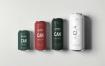 啤酒多种包装尺寸样机素材模板样机 智能贴图样机素材Can Mock up 2
