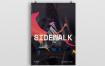 发布会倒计时海报/传单素材模板Sidewalk Poster Flyer
