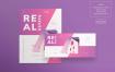房地产代理传单和海报模板Real Estate Agency Flyer and Poster Template Kf7yr2