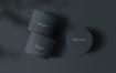 精致透视角度化妆品罐样机素材模版下载Cosmetic Jars Mockup