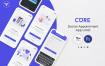 在线医疗预约应用U套件模版素材ICure Doctor Appointment Mobile App UI Kit