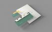 简约文艺企业品牌办公文具模型样机效果图Branding Stationery Mockups S8PGBDY