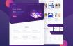 营销机构门户网站素材样机模型下载Sabyan Landing Page