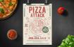 披萨派对传单海报模版素材下载833NYX