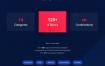 120个高端轻奢服装品牌网站素材模板Today Web UI Kit