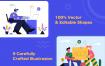 现代企业办公场景创意插画素材Taruih – Business Illustrations