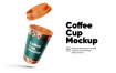 精致品牌咖啡杯样机模版素材Q9J8WAA