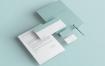 企业品牌印刷品身份和文具包模版素材下载RVAWZC5