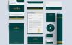 酒店品牌标识和文具套装模版素材UYY5SK5