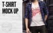 简约都市T恤样机模版下载WFXQDL