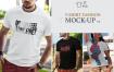 时尚男士T恤时尚模型素材样机模版 9TTMV6Z