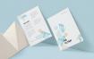 企业传单海报模版素材A6单页传单样机FHYJAQ7