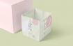 企业方形牛皮纸购物袋样机模版素材下载Q3FKFYG
