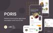 美食外卖订购电商应用程序UI套件模版素材