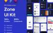 区域应用程序UI套件 文章和博客应用UI套件  Zaara Fashion ecommerce UI Kit