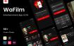 娱乐应用程序UI套件模版素材WaFilm – Entertainment App UI Kit
