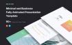 简约独特创意家具装修幻灯片模版素材SELECTED – Minimal Presentation Template