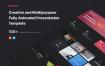 多用途和创意演示模板 彩色和创意多功能演示模板 MOTION – Multipurpose & Creative Presentation Template