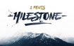 里程碑字体 手工书法Milestone Fonts