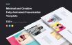 时尚简约最小演示模板KLOE – Minimal Presentation Template