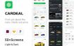 汽车销售信息应用程序UI套件模板素材下载
