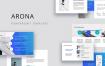 ARONA-Powerpoint模板+ 20 Phots奖金