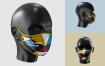 文艺口罩样机模板素材下载LM7QFT6