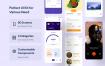 美食外卖应用设计模版素材CaBu Multi-Purpose iOS UI Kit