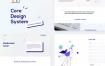 企业网站设计模板素材下载 Corporate website Design Template