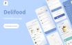 送餐UI套件模版素材下载 Delifood – Food Delivery UI Kits
