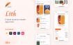 子书商店和电子阅读器应用程序UI套件Lith – E-book store & E-reader App UI Kit