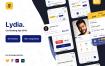 租车和共享移动应用程序UI套件Lydia – Car Booking & Sharing Mobile App UI Kit
