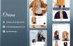 时尚服装店UI工具包模版素材下载Oriina clothes shop Ui kit