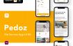 宠物服务应用程序UI套件Pedoz – Pet Service App UI Kit