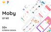 婴儿或儿童电子商务的UI套件Moby E-commerce App Ui Kit