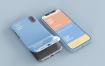 精致手机壳智能手机屏幕和案例模型素材下载EJLSLY5