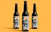 玻璃啤酒瓶模型样机素材下载  MLU6K5Z