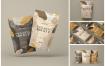 真空塑料包装食品袋样机模型素材下载EUQX78B