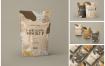 精致食品包装袋样机套装模版素材下载SFADPLV