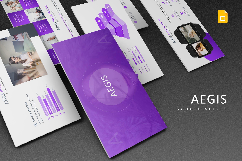 企业新产品市场调研提案PPT幻灯片模板下载Aegis Google Slides Template插图