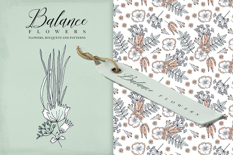 平衡花绿植品牌素材模板下载Balance Flowers插图